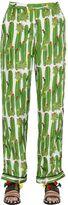 Sanchita Cactus Printed Silk Twill Pants