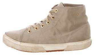 The Row Superga x Canvas High-Top Sneakers