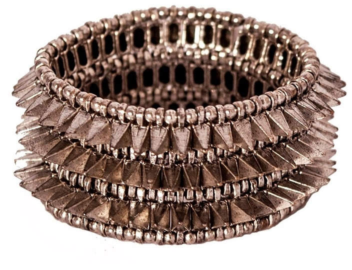 Philippe Audibert Silver-Plated Spike Bracelet