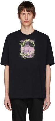 Acne Studios Black Summer Solstice T-Shirt