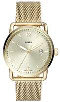 Fossil Men's 'The Commuter' Quartz Stainless Steel Casual Watch