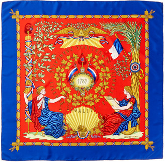 Hermes Republique, By Carre Silk Scarf