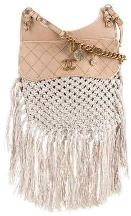 Chanel 2015 Desert Hobo Bag