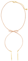 Gorjana Annabelle Leather Choker Necklace