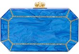 Edie Parker The Webster x Ritz Paris clutch - women - Plexiglass - One Size