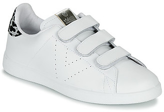 Victoria TENIS VELCRO PIEL women's Shoes (Trainers) in White