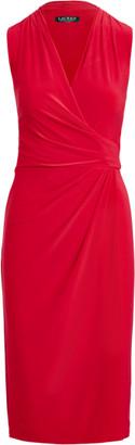 Ralph Lauren Pleated Jersey Dress
