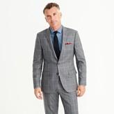 J.Crew Ludlow suit jacket in windowpane Italian wool flannel