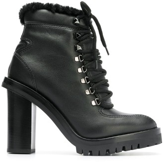 Valentino Lace-Up Boots