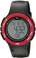 Puma Unisex PU911211001 Touch Digital Display Quartz Black Sport Watch