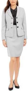 Le Suit Blazer & Pencil Skirt Suit