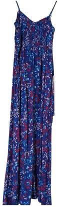 Parker Blue Silk Dress for Women