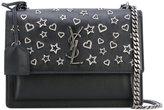 Saint Laurent medium Sunset Monogram shoulder bag - women - Calf Leather - One Size