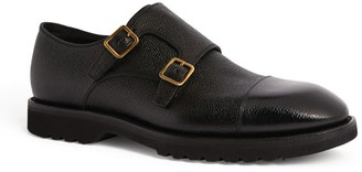 Tom Ford Leather Kensington Double-Monk Shoes