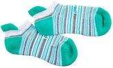 Feetures Stripes HP Cushion No Show Tab Running Socks 8143287