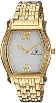 Burgmeister Women's Quartz Watch with Silver Dial Analogue Display and Gold Stainless Steel Bracelet BM806-219