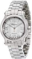 Chopard Women's Steel Bracelet & Case Sapphire Crystal Automatic Silver-Tone Dial Analog Watch 278573-3002