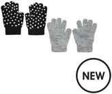 Very Girls 2 Pack Gloves