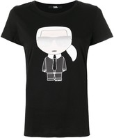 Karl Lagerfeld Paris iconic print T-shirt