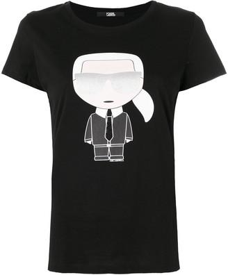 Karl Lagerfeld Paris iconic print T-shirt