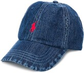 Polo Ralph Lauren logo denim cap