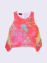 KIDS DieselTM Shirts KXA03 - Orange - 10Y