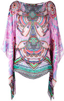 Roberto Cavalli abstract print blouse - women - Silk - 44