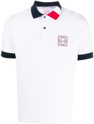 Sun 68 Contrast Trim Polo Shirt
