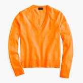 J.Crew Italian cashmere easy V-neck sweater