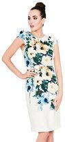 Betsey Johnson Full Bloom Midi Dress