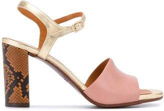 Chie Mihara Block Heel Sandals