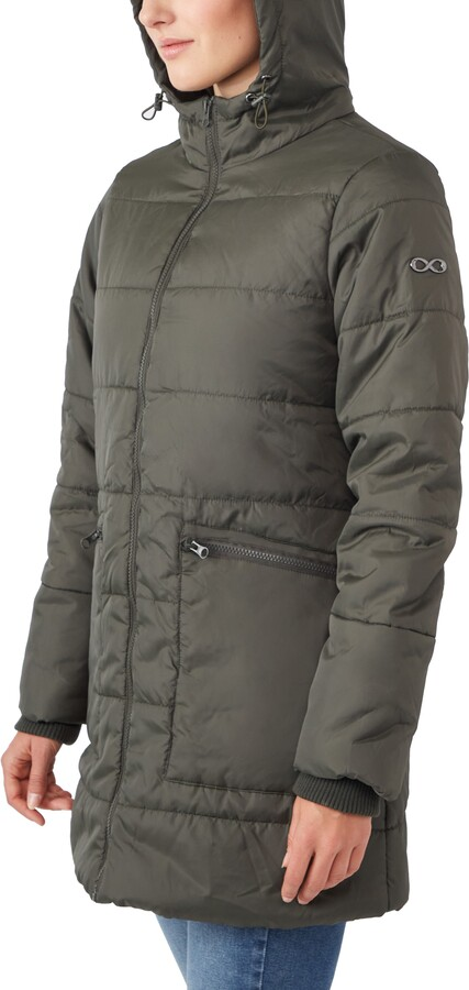 Thumbnail for your product : Modern Eternity 3-in-1 Hybrid Quilted Waterproof Maternity Puffer Coat