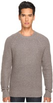 Jack Spade Shaker Stitch Ribbed Crew Neck Sweater Men's Sweater