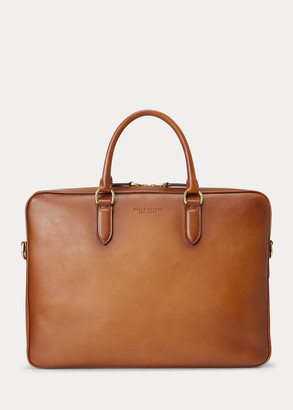 Ralph Lauren Burnished Vachetta Briefcase