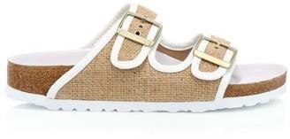 Birkenstock Arizona Hex Jute Sandals