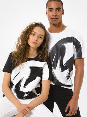 Michael Kors Logo Cotton Jersey Unisex T-Shirt