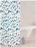Sabichi Blue Poppy shower Curtain
