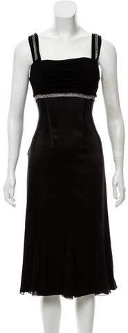Dolce & Gabbana Silk Embellished Dress
