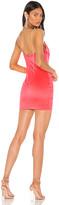 superdown x Draya Michele Donya V Neck Mini Dress