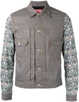 Junya Watanabe Comme Des Garçons Man - chest pockets patterned jacket - men - Cotton/Polyester/Wool - S