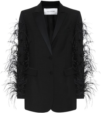 Valentino Wool and mohair blazer