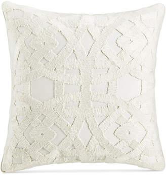 "Hotel Collection Trousseau 22"" Square Decorative Pillow, Bedding"