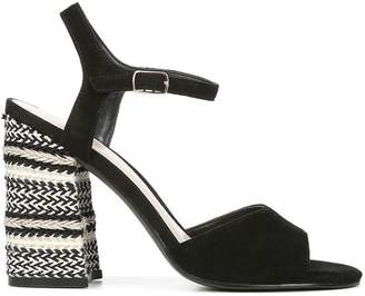 Fergie Ginelle Suede Ankle-Strap Sandals