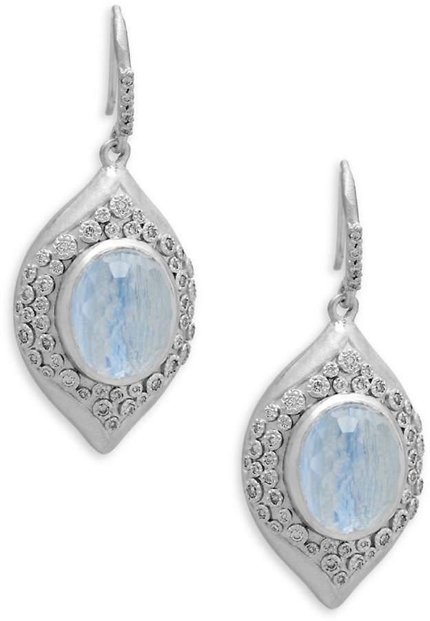 Armenta Women's New World Diamond & Gemstone Drop Earrings