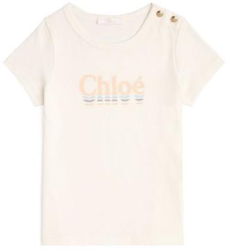 Chloé Kids Logo T-Shirt