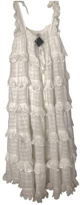 Innika Choo White Cotton Dresses