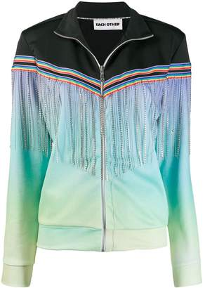 Each X Other fringed zipped jacket