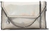 Stella McCartney Falabella holographic clutch bag