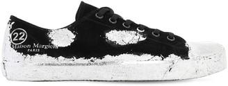 Maison Margiela Suede Low Top Sneakers