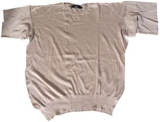 Calvin Klein Beige Cotton Top for Women